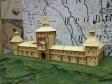 """Museum of history of Naberezhnye Chelny. Экспозиция """"Археология. Волжская Булгария"""". Макет здания."""