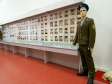"""Museum of history of Naberezhnye Chelny. Экспозиция """"Участие Челнинцев в Великой Отечественной войне, в военных действиях в Афганистане и Чечне""""."""