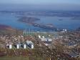 Flying over Zhigulevsk. Жигулёвская ГЭС (Волжская (Куйбышевская) ГЭС им. В.И. Ленина)