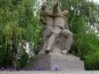 """Mamayev Kurgan. Скульптура """"Раненый командир не покидает поля боя""""."""