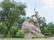 """Mamayev Kurgan. Скульптура """"Скорбящая мать""""."""