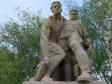 """Mamayev Kurgan. Скульптура """"Выстояв, мы победим""""."""
