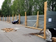 Тольятти. Новостройки появляются буквально ночью. Даже водители не успевают забирать свой транспорт.