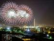 Пресненский район. Этим грандиозным салютом завершилось празднование юбилея Победы 9 мая 2015 года