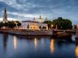 Адмиралтейский район, Санкт-Петербург. Вечер на Канале Грибоедова.