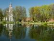 Сергиев Посад. Удивительно красивая весна отражается в зеркале Белого пруда.