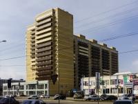 Майкоп, улица Чкалова, строящееся здание