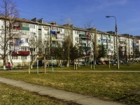 Maikop, Yunnatov st, house 10. Apartment house