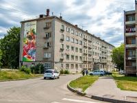 Казань, улица Молодёжная, дом 8. многоквартирный дом