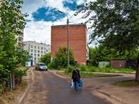 Казань, улица Молодёжная. хозяйственный корпус
