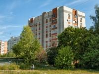 Казань, улица Кул Гали, дом 5А. многоквартирный дом