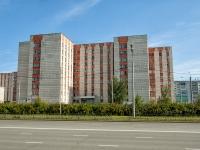 Казань, улица Кул Гали, дом 10. многоквартирный дом