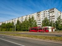 Казань, улица Комиссара Габишева, дом 7. многоквартирный дом