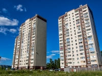 Казань, улица Комиссара Габишева, дом 8. многоквартирный дом