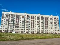 Казань, улица Комиссара Габишева, дом 10. многоквартирный дом