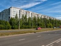 Казань, улица Комиссара Габишева, дом 11. многоквартирный дом