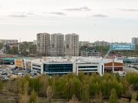 Казань, улица Аграрная, дом 2. многофункциональное здание
