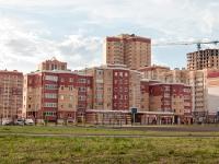 Казань, улица Баки Урманче, дом 9. многоквартирный дом