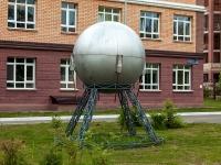 Казань, улица Гарифа Ахунова. малая архитектурная форма