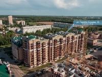 Казань, улица Гарифа Ахунова, дом 10. многоквартирный дом