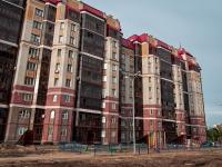 Казань, улица Гарифа Ахунова, дом 14. многоквартирный дом