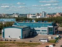 Казань, улица Мидхата Булатова, дом 1. спортивный комплекс Санкт-Петербург, центр волейбола