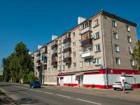 Казань, улица Химиков, дом 19. многоквартирный дом