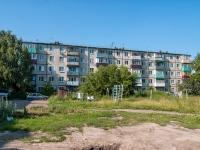 Казань, улица Химиков, дом 27. многоквартирный дом