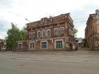 Kazan, Gabdulla Tukay st, house 26. building under reconstruction