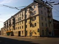 Казань, улица Гаяза Исхаки, дом 8. многоквартирный дом