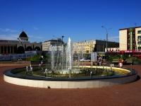 Казань, площадь Привокзальная. фонтан
