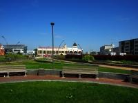 "Казань, улица Бурхана Шахиди. площадь ""Привокзальная площадь"""