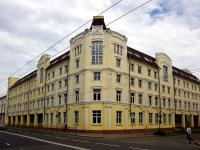 Казань, улица Московская, дом 21. здание на реконструкции