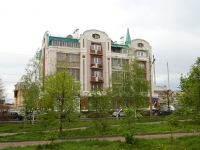 Kazan, Tazi Gizzat st, house 15. Apartment house