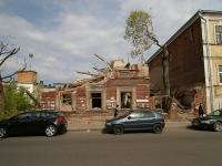 Казань, улица Тази Гиззата, дом 12. аварийное здание