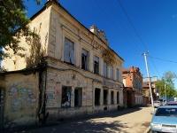 Kazan, vacant building здание типографии Миллят, Narimanov st, house 62