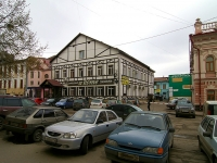 neighbour house: st. Kavi Nadzhmi, house 8. multi-purpose building