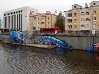 Казань, улица Право-Булачная, дом 7. многоквартирный дом