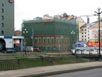 Kazan, Pravo-Bulachnaya st, house 45. building under reconstruction