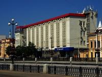 Казань, улица Право-Булачная, дом 13. офисное здание АЛЬТОН, бизнес-центр