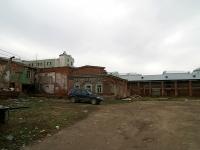 Казань, улица Право-Булачная. неиспользуемое здание