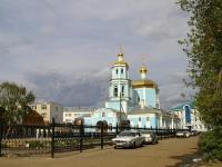 Kazan, church Тихвинская, Khudyakov st, house 4