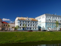 Казань, улица Галиаскара Камала, дом 2. многоквартирный дом