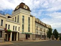 Казань, улица Галиаскара Камала, дом 4А. офисное здание