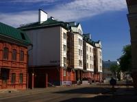 Казань, улица Галиаскара Камала, дом 18. многоквартирный дом