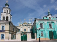 Kazan, cathedral Никольский кафедральный собор, Bauman st, house 5