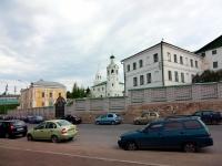 Казань, улица Баумана, дом 1. монастырь Свято-Иоанно-Предтеченский мужской монастырь