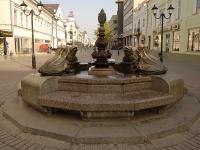 喀山市, 喷泉