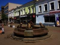 """улица Баумана. фонтан """"Лягушки"""""""