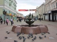 """улица Баумана. фонтан """"Голуби"""""""